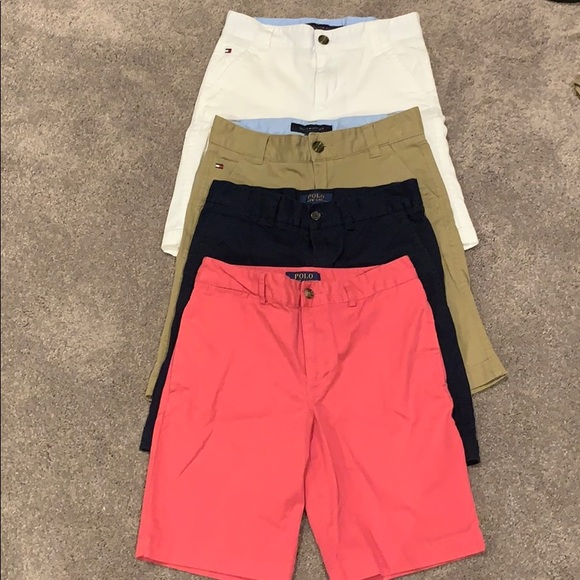 Tommy Hilfiger Other - Bundle of boys button front shorts